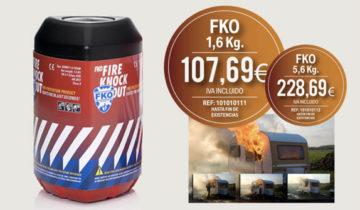 FKO Extintor de Explosión