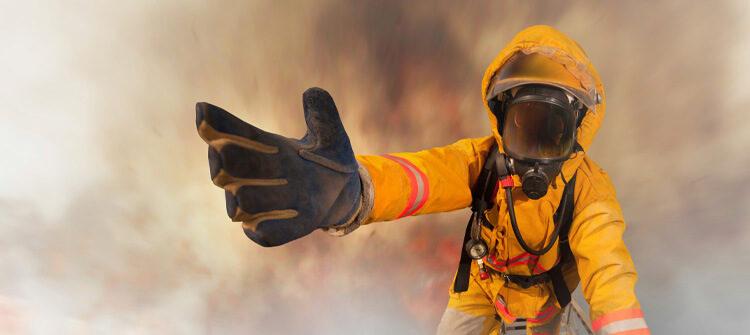 Requisitos y características de los cascos para bomberos